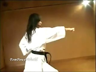 Japanese karate woman 1