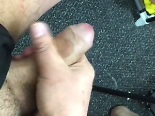 playing with my cock , big dick