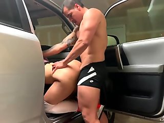 Banged My Step Sister After Working Out With Her